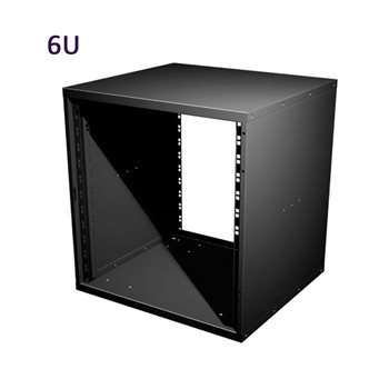 """Penn Elcom 6U 19 Inch Flat Pack Rack Cabinet 480mm/18.9"""" Deep R8400-06  - Haga Clic para ver una Imagen más grande"""