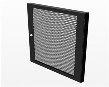 Penn Elcom 8U Perforated Rack Door for R8400 & R8500 Racks R8460/08  - Click to view a larger image