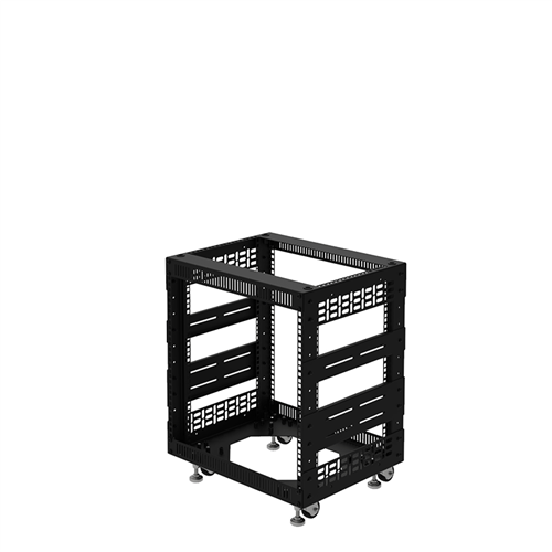 "Penn Elcom 10U Open Tower Rack System 400mm / 16"" Deep R8200-16/10UK  - Click to view a larger image"