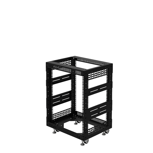 """Penn Elcom 12U Open Tower Rack System 400mm / 16"""" Deep R8200-16/12UK  - Click to view a larger image"""