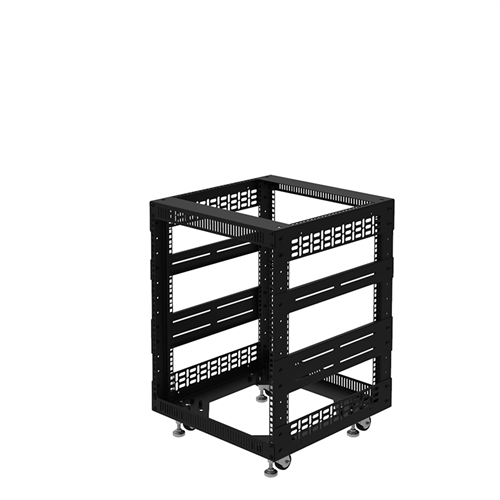 """Penn Elcom 12U Open Tower Rack System 510mm / 20"""" Deep R8200-20/12UK  - Click to view a larger image"""