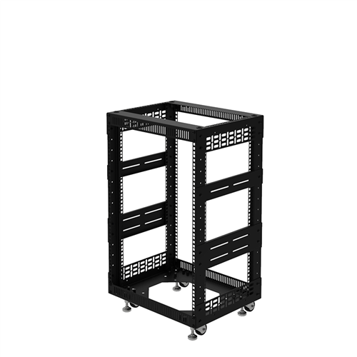 "Penn Elcom 15U Open Tower Rack System 400mm / 16"" Deep R8200-16/15UK  - Click to view a larger image"