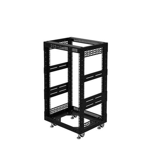 "Penn Elcom 16U Open Tower Rack System 400mm / 16"" Deep R8200-16/16UK  - Click to view a larger image"