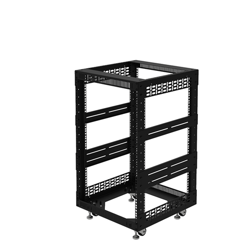 "Penn Elcom 16U Open Tower Rack System 510mm /  20"" Deep R8200-20/16UK  - Click to view a larger image"