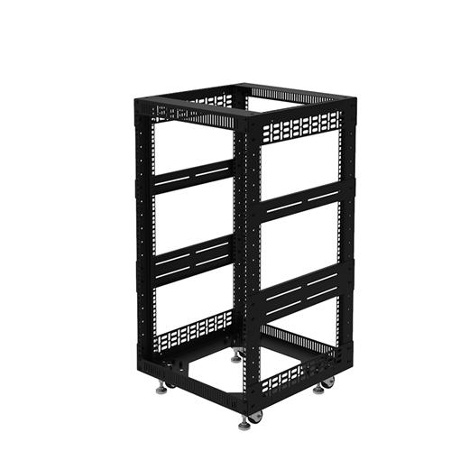 "Penn Elcom 18U Open Tower Rack System 510mm / 20"" Deep R8200-20/18UK  - Click to view a larger image"