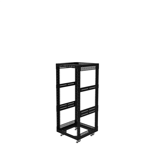 "Penn Elcom 24U Open Tower Rack System 510mm /  20"" Deep R8200-20/24UK  - Click to view a larger image"