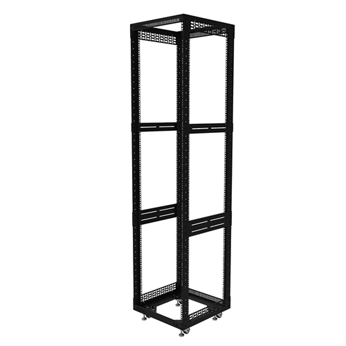 """Penn Elcom 43U Open Tower Rack System 510mm /  20"""" Deep R8200-20/43UK  - Click to view a larger image"""