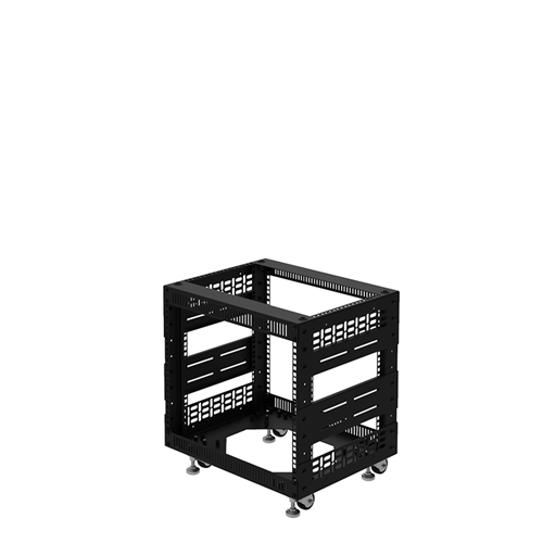"Penn Elcom 8U Open Tower Rack System 400mm / 16"" Deep R8200-16/8UK  - Click to view a larger image"