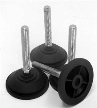 Penn Elcom Adjustable Feet for R8200 Rack Frame ( set of 4 ) R8295  - Click to view a larger image