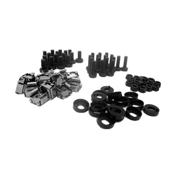Penn Elcom Screw Set for R0863/2mm & R0883/2mm Rack Strip R8292  - Click to view a larger image