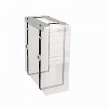 Penn Elcom CPU Holder Silver with Adjustable CPU Support CPU-42SN  - Click to view a larger image