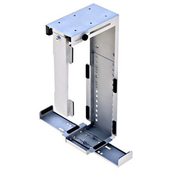 Penn Elcom Rigid Locking Computer Holder Silver CPU-87S/L  - Click to view a larger image