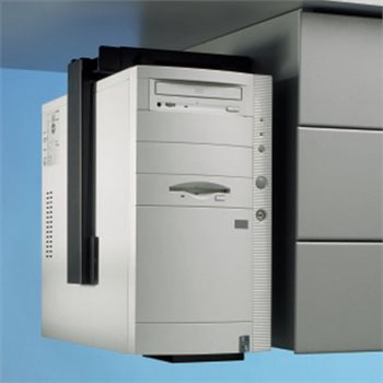 Computer Tower Holder Adjustable Rigid CPU Support Locking Security CPU-87B//L