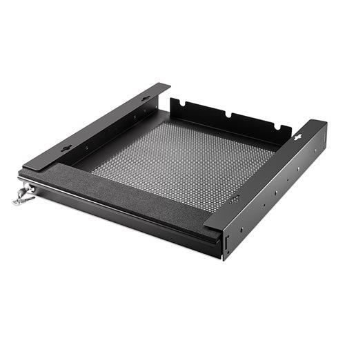Penn Elcom Penn Elcom Abschließbares, belüftetes Laptop Schubfach, Schwarz, 350mm