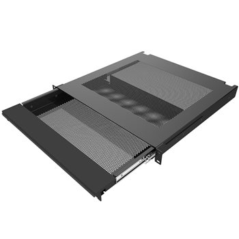 Penn Elcom Rackmount Laptop Security Drawer Black EX-6301B  - Click to view a larger image