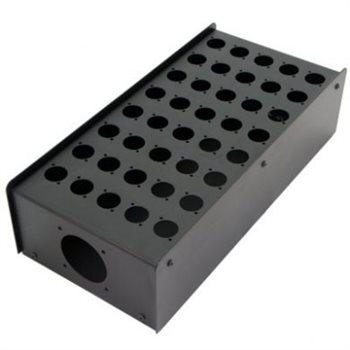 Penn Elcom 40 Hole Stage Box Punched for D-Series Connectors R2350-40  - Clique para visualizar a imagem ampliada