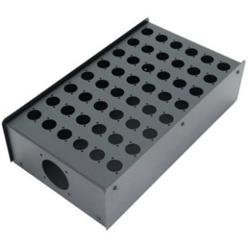 Penn Elcom 48 Hole Stage Box Punched for D-Series Connectors R2350-48  - Click to view a larger image