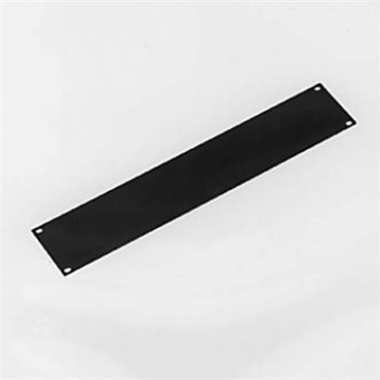 Penn Elcom 2U Rack Panel Aluminium Flat Black R1275/2UK