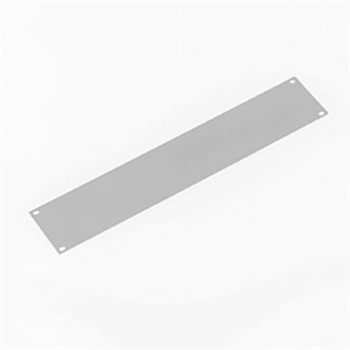 Penn Elcom 2U Rack Panel Aluminium Flat Silver R1275/2US
