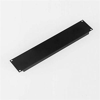 Penn Elcom 2U Rack Panel Aluminium Formed Black R1267/2UK