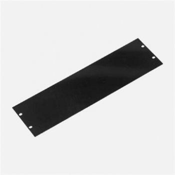 Penn Elcom 3U Rack Panel Aluminium Black R1275/3UK
