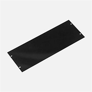 Penn Elcom 4U Rack Panel Aluminium Flat Black R1275/4UK  - Click to view a larger image