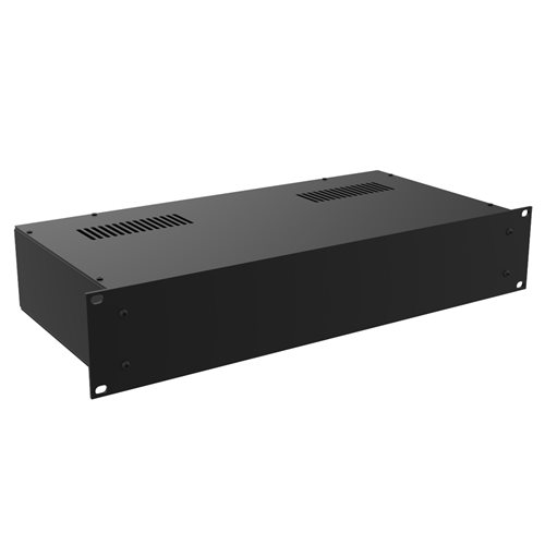 "Penn Elcom 2U Rack Box 220mm/8.66"" Deep Black R2100/2UK  - Click to view a larger image"