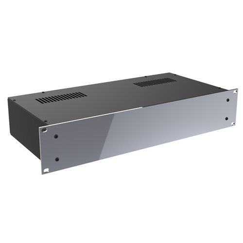 "Penn Elcom 2U Rack Box 220mm/8.66"" Deep Silver R2100/2US  - Click to view a larger image"