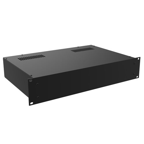 "Penn Elcom 2U Rack Box 300mm/11.81"" Deep Black R2110/2UK  - Click to view a larger image"