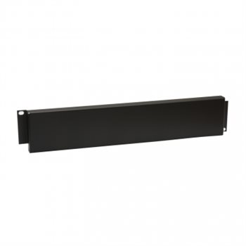 Penn Elcom 2U Security Rack Panel Black R1287/2BK