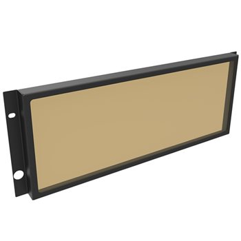 Penn Elcom 4U Security Rack Panel with Smoked Window R2287/4UK  - Click to view a larger image