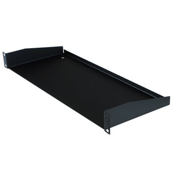 "Penn Elcom 1U Rack Shelf 180mm/7.09"" Deep R1194/1UK-180  - Click to view a larger image"