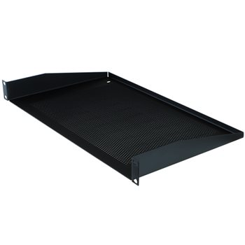"Penn Elcom 1U Rack Shelf Vented 272mm/10.71"" Deep R1194/1UVK  - Click to view a larger image"