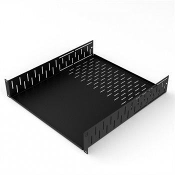 "Penn Elcom 2U Clamping Rack Shelf 500mm/19.69"" Deep R1297-500/2UK"