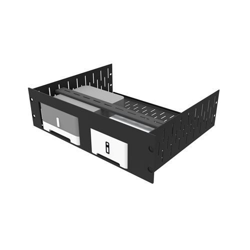 Penn Elcom 3U Rack Shelf & Faceplate for 1 x Connect Amp 1 x Sonos connect R1498/3UK-S12090  - Click to view a larger image