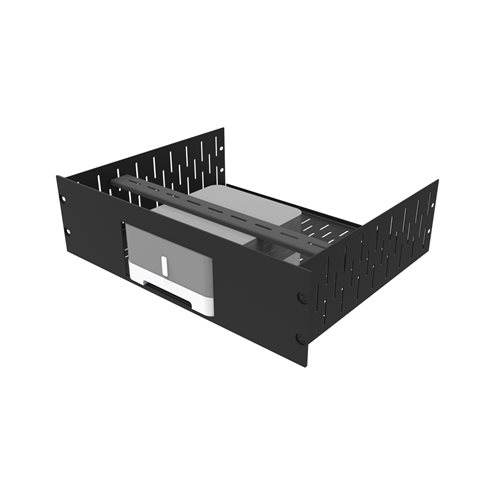 Penn Elcom 3U Rack Shelf & Faceplate For 1 x Sonos ZP120 (CONNECT:AMP) R1498/3UK-SONOZP120S  - Click to view a larger image