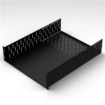 Penn Elcom 4U Rack Shelf 600mm Deep R1297-600/4UK  - Click to view a larger image