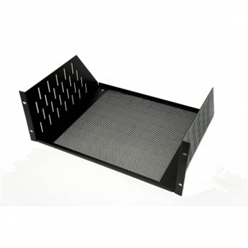 "Penn Elcom 4U Rack Shelf Vented 368.2mm/14.5"" Deep R1194/4UVK"