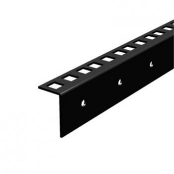 "Penn Elcom 2U Full Hole RacK Strip with Squre Holes 2mm/0.08"" R0863/2MM-02"