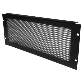Penn Elcom 4U Rack Panel Steel Perforated R1286/4UVK  - Click to view a larger image