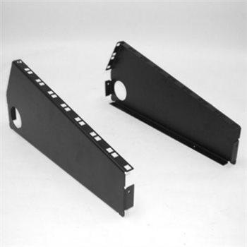 Penn Elcom Console Panels for 8U Mixer + 2U Slope ( Pair ) R2320