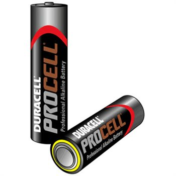 Procell Duracell Procell Size AAA / MN2400 Pack of 10 batteries Procell-AAA(MOQ-400-
