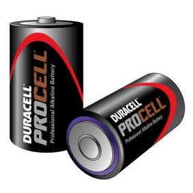 Procell Duracell Procell Size D/MN1300 Pack of 10 batteries Procell-D(MOQ-50-Box