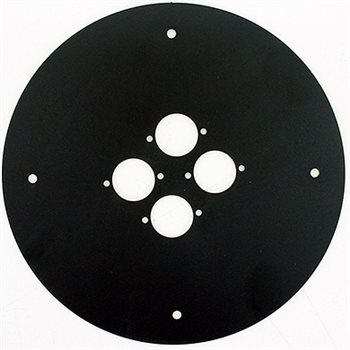 Schill Cable Drum 310 Centre Plate Punched for 4 x D Series Hole