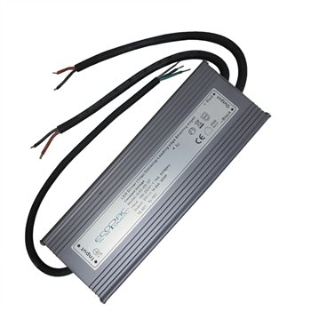 Ecopac UK ELED-200-24T 200 watt Mains Dimmable constant voltage LED driver 24V IP66 ELED-200-24T  - Click to view a larger image