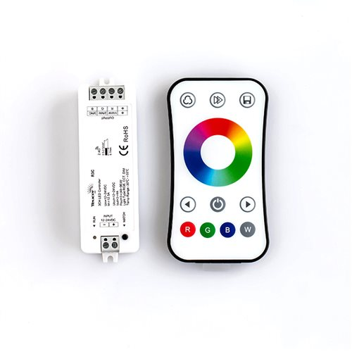 Teucer LR-RGB Single Zone RGB Remote and Receiver 24V LR-RGB