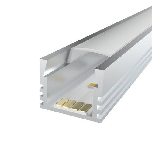 Comus 1M LEDAL07 KIT for 12mm Deep Aluminium Profile LEDAL07  - Click to view a larger image