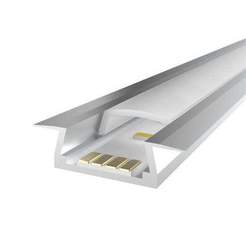 Penn Elcom 1m Ledal05 Kit for 6mm Recessed Aluminium Profile LEDAL05  - Click to view a larger image