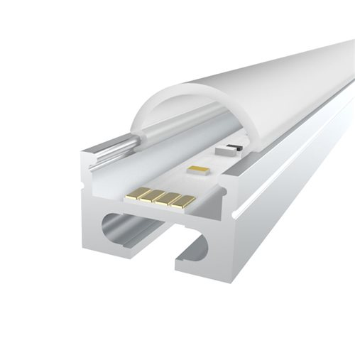 Penn Elcom 1M LEDAL01 KIT for 16.9mm Ceiling Aluminium Profile LEDAL01  - Click to view a larger image