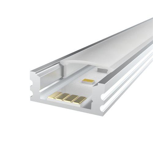 Penn Elcom 1m Kit 7mm high Aluminium Profile Ledal13  - Click to view a larger image